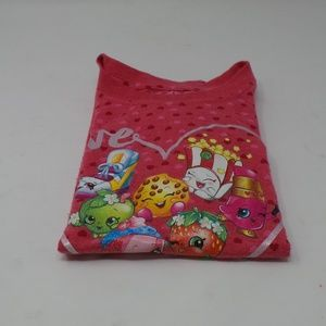 Shopkins Girl's Sleeping T-shirt